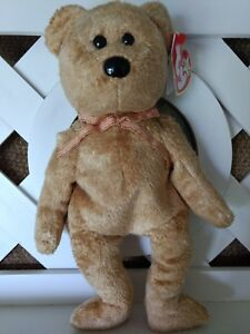 5bf7ba1766a TY Beanie Baby ~ CASHEW Bear ~ NEW with Tags Retired with PE Pellets ...