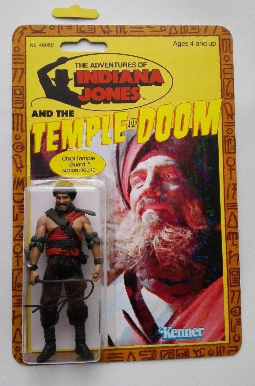 Figurine Indiana Jones Chef guarde du temple neuve neuf Kenner Revendeur