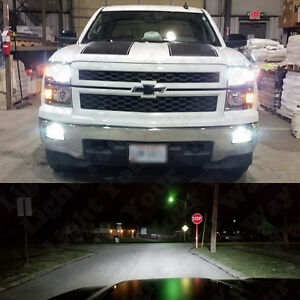 White Led H11 Low Beam Headlight 5202 Fog Light Bulbs