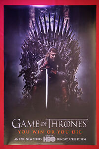 Details About Game Of Thrones Season 1 Hbo 2011 Movie Poster 24x36 New Got1