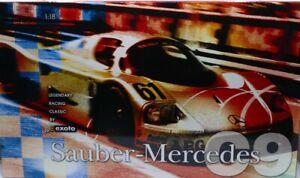 EXOTO RLG18190 Sauber Mercedes Benz C9 1989 Prototype Presentation Car 1:18