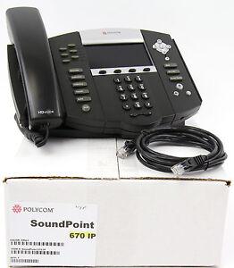 Polycom-SoundPoint-IP-670-SIP-VoIP-PoE-Phone-Bulk