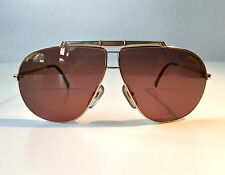 vintage CARRERA 5401 titanium/gold NOS rare sunglasses Austria 80s SMALL