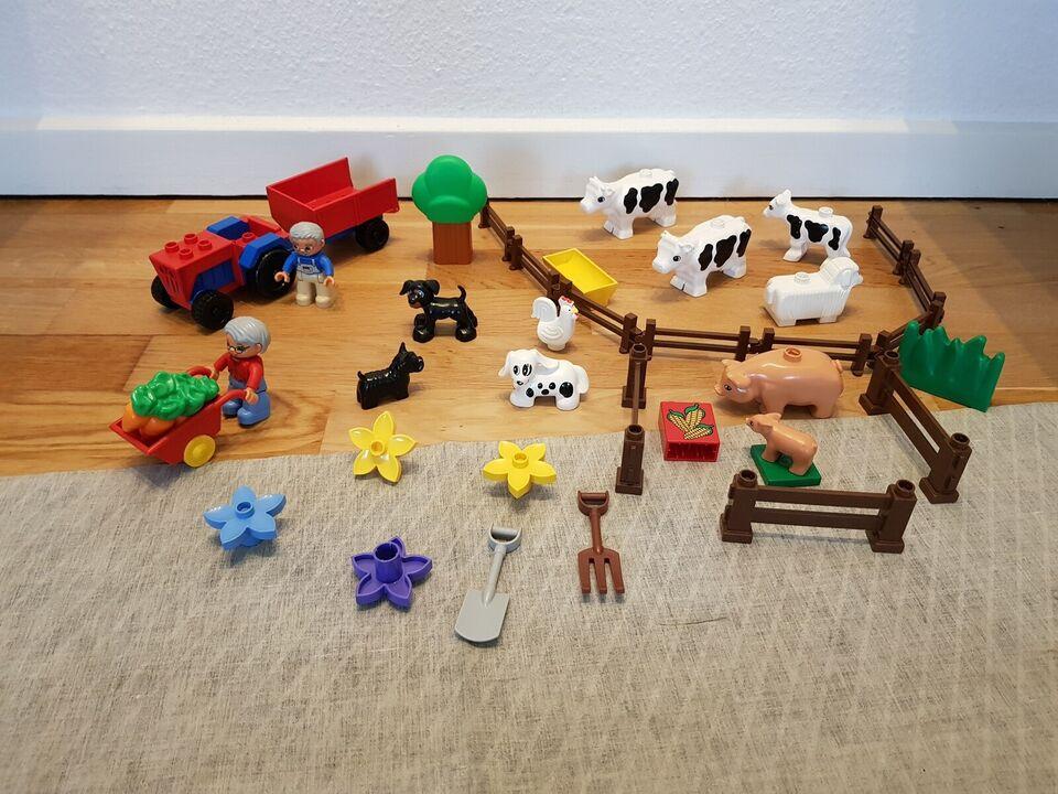 Lego Duplo, Duplo Bondegårds Dyr, Figur og tilbehør