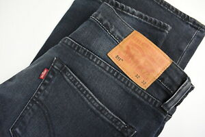 LEVI STRAUSS & CO. 511 Men's W32/L32 Stretchy Faded Slim Fit Jeans 35172_GS