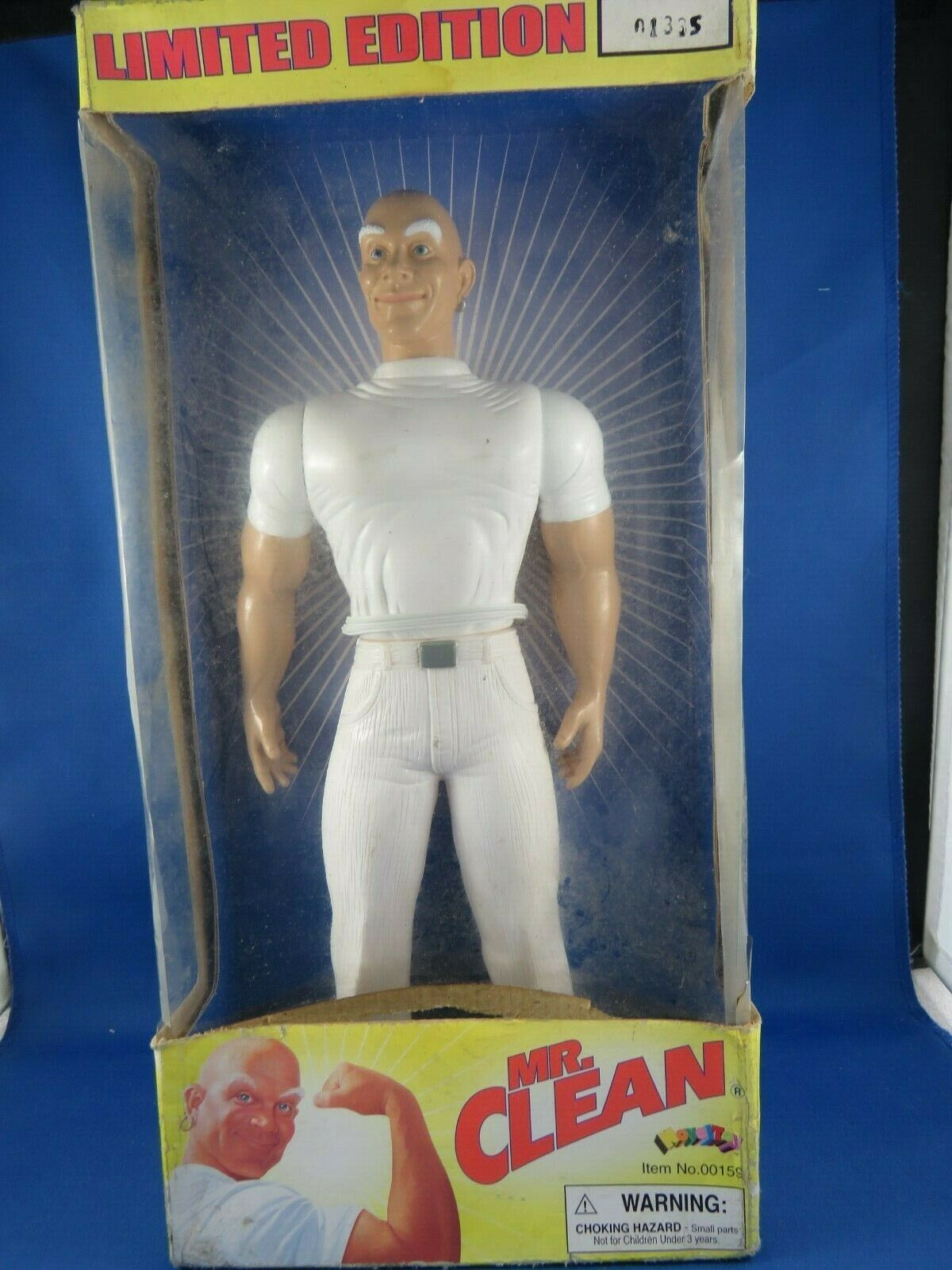 Limited Edition Mr.Clean Action Figure  01335