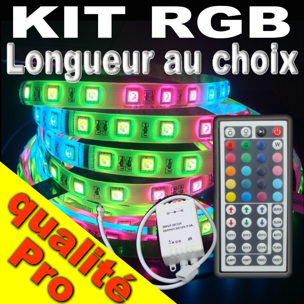 KIT816# choix Strip LED RGB longueur au choix KIT816# version 30LED/m 72267b
