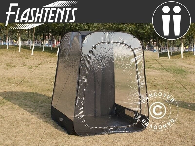 Tilskuertelt pop-up, FlashTents®, 2 personer...