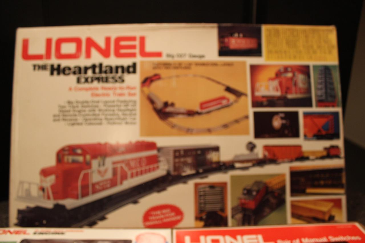 Traje de Lionel MPC - 1764 - expreso de la zona central - 0   027 - caja