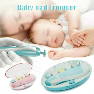 2021 NEW Kids Baby Toddler Newborn Electric Nail File | Electric Nail Trimmer US