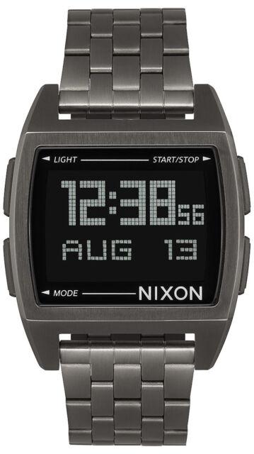 Reloj Hombre Nixon The Base A1107632 de Acero inoxidable Gris