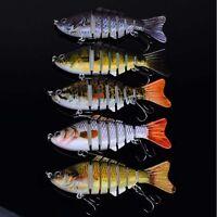 Minnow Fishing Lures Crank Bait Hooks Bass Crankbaits Tackle Sinking Popper