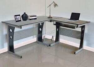 Westwood en forme de l angle ordinateur bureau table de pc bureau