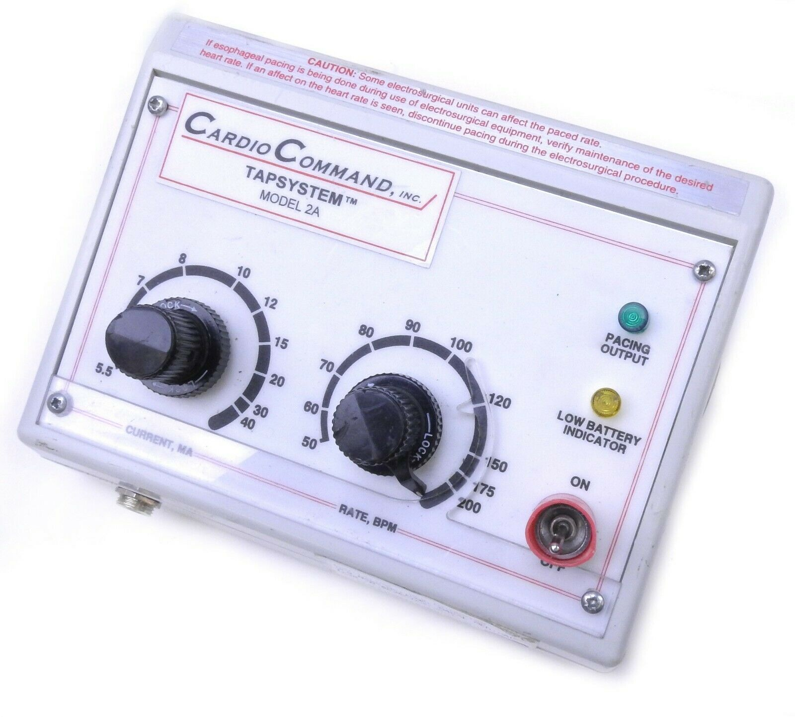 Cardio Command Esophageal Pulse Generator
