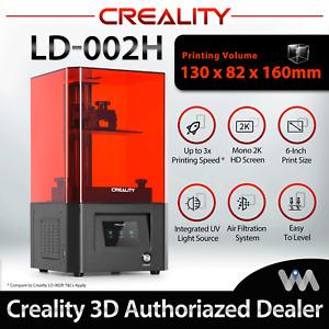 Creality UV Resin 3D Printer LD-002H LD 002H Kit Authorized Dealer 1 Year Local