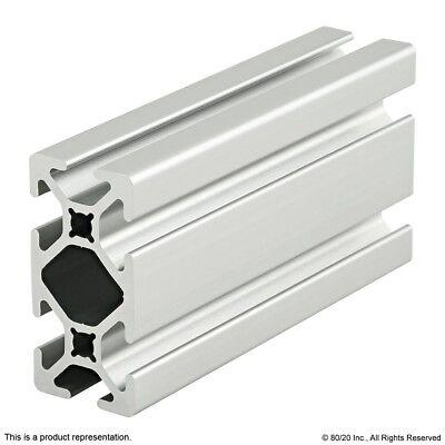 "80//20 T Slot 10 Series 2/"" x .5/"" Aluminum Extrusion 2012 x 60/"" Long N"