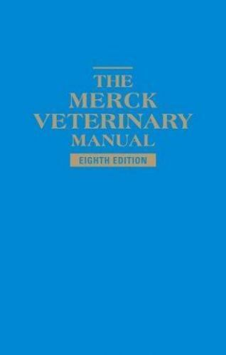 The Merck Veterinary Manual 1998 Hardcover Revised Edition For Sale Online Ebay
