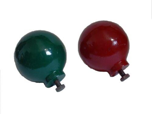 RARE 100/% SATISFACTION Pair of BALLS for Wooden BINNACLE Compass