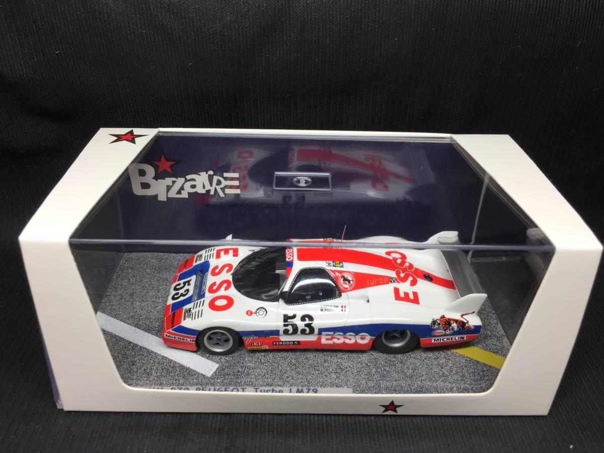 Bizarre 1/43 1/43 1/43 WM P79 Peugeot Turbo #53 Le Femmes 1979 BZ389 | Outlet Store  222597