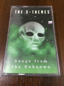 THE-X-THEMES-SONGS-FROM-THE-UNKNOWN-MC-K7-CASSETTE-TAPE-CINTA-16-TRACKS