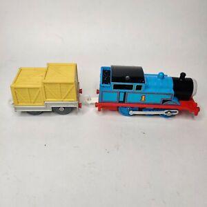 TOMY Trackmaster Motorized Thomas & Jet Engine Cargo Car 1992 - Not Working