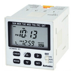 Industrial digital programmable timer time switch weekly for Electric motor timer control