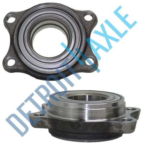 2 Front Wheel Bearing Module for Audi A4 Quattro A6 RS6 S4 S6 2000 New Set