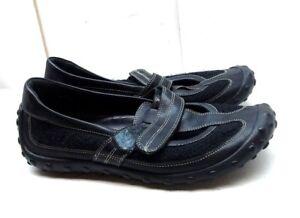 c474e6c7e Nike Lab G Series Women s Black Leather Mesh Flats mary Jane Casual ...