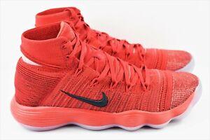 d39c30060ba Nike Hyperdunk 2017 Flyknit Mens Multi Size Red Basketball Shoes ...