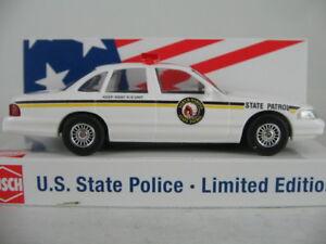 """Busch 49079 Ford Crown Victoria """"North Dakota State Patrol"""" 1:87/H0 NEU/OVP"""