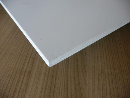 Blanc 1000 X 500 X 8 Mm Mousse Rigide PVC Plaque Prédécoupé