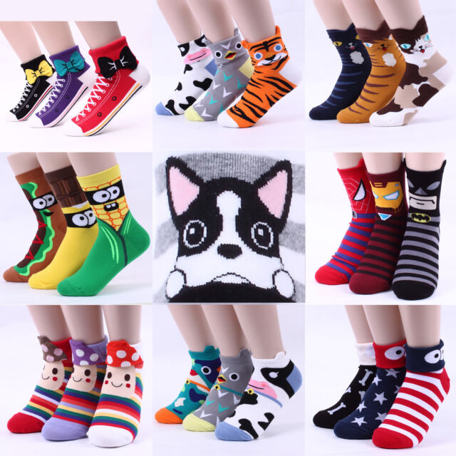 CHOICE ALL best selling CHARACTER SOCKS women boy girl made in KOREA [USFX]