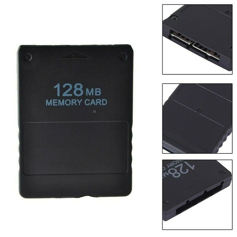 for Sony Playstation 2 - 128MB Memory Card Game Save Data Stick PS2 Slim   FPC