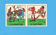 FIGURINA PANINI CALCIATORI 1970/71-PROSDOCIMI n.2- L'ALLENATORE+CAPIT-CON VELINA
