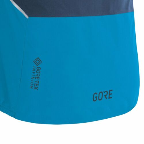 Gore Wear r7 partial GTX Hooded Jacket Dynamic Cyan orbite Blue Messieurs laufjacke