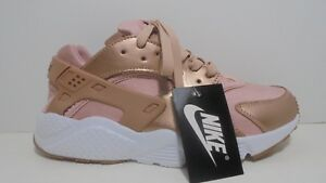 Nike-Air-Huarache-Running-Rose-Gold-717075-005-Running-Shoes-For-Women-Size-7-5