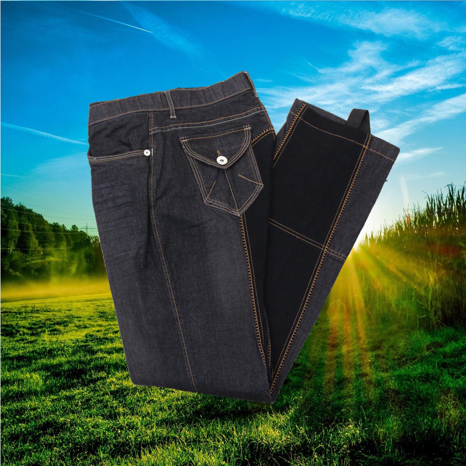 HKM Jodhpur Reithose Jeans,Jodhpurreithose Davota, Ganzbesatz, jeans    | Leicht zu reinigende Oberfläche