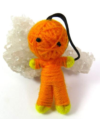 Farben Anhänger NEU ein Schlüsselanhänger Voodoo-Puppe Voodoo-Doll Wolle versch