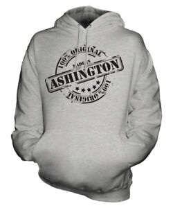 Unisex compleanno Made ° 50 Gift Ladies di Ashington Natale Womens Mens In Hoodie qwHEwF