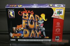 Conker's Bad Fur Day (Nintendo 64 N64 2001) FACTORY SEALED! - EXCELLENT! - RARE!