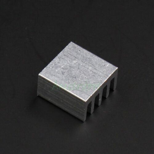 20pcs 9x9x4mm Mini Aluminium Fin Heatsink For PC IC LED Chipset RAM Cooling