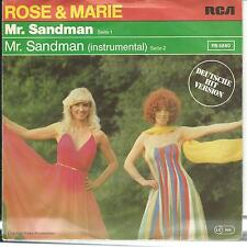 7'Rose&Marie(Herlinde Grobe+Babs Nielsen) >Mr.Sandman(DEUTSCH)< KULT!!