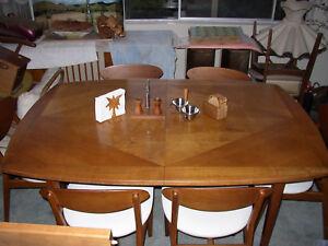 1963 Glenn Of California Mid Century Modern Expansion Dining Table