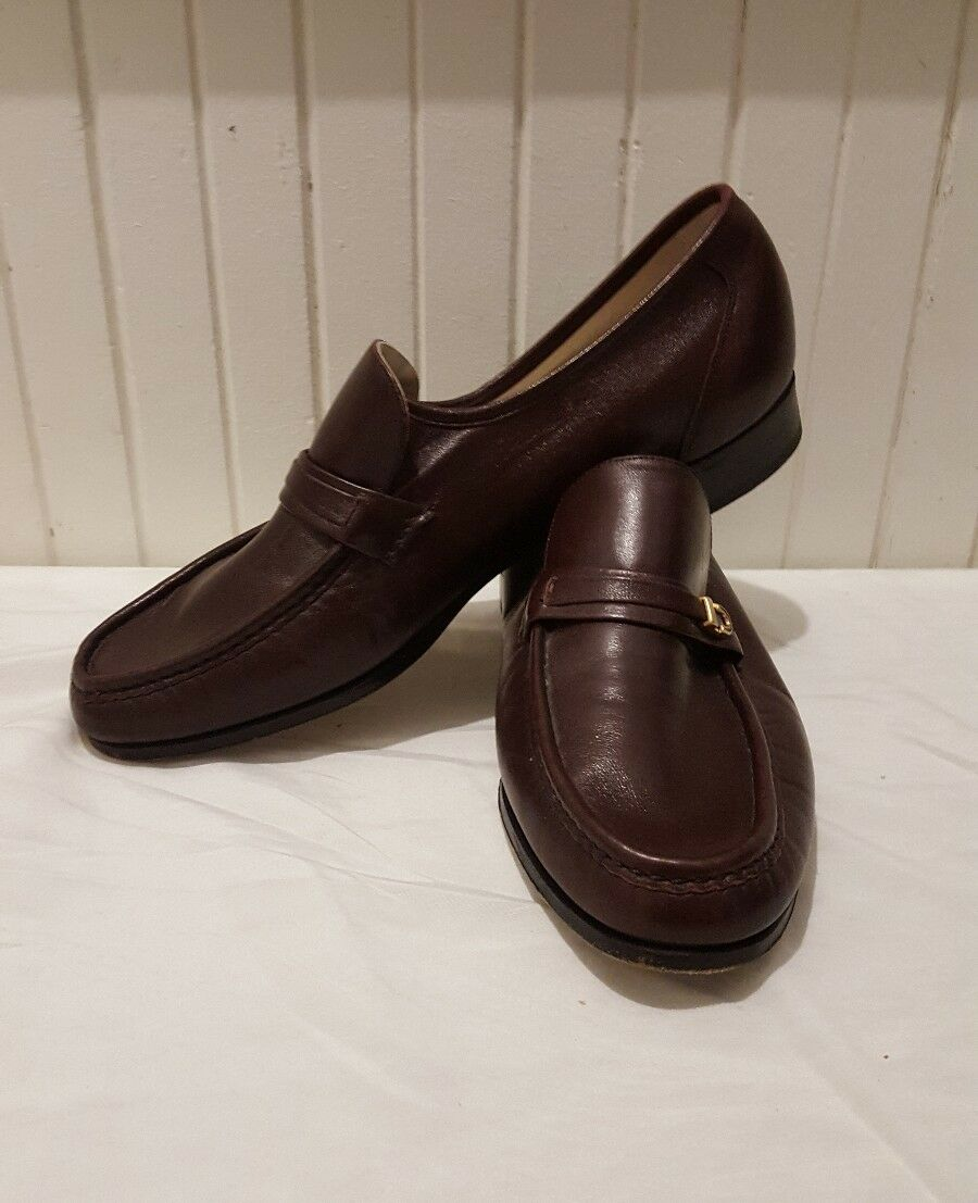 risposta prima volta Vintage Florsheim Imperial Uomo Como Slip On Loafer Dress Dress Dress scarpe Marrone Sz 8.5  il prezzo più basso