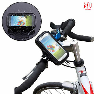 New-360-Waterproof-Bicycle-Mount-Holder-Phone-Cover-For-iPhone-5-5s-6-6s-7-8-X