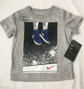Nike-Dri-Fit-Short-Sleeved-Shirt-Size-2T-3T-4T-Gift-20-Boys-Basketball
