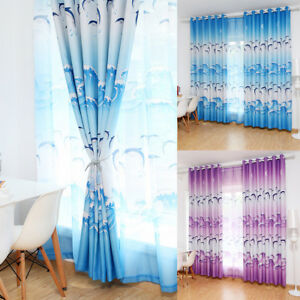 Superior Image Is Loading DOLPHIN OCEAN WAVE PATTERN WINDOW CURTAIN DRAPE LIVING