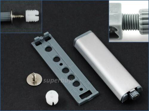 Push Open Soft Close Magnetic Kitchen Cabinet Drawer Door Stop Latch System Kit