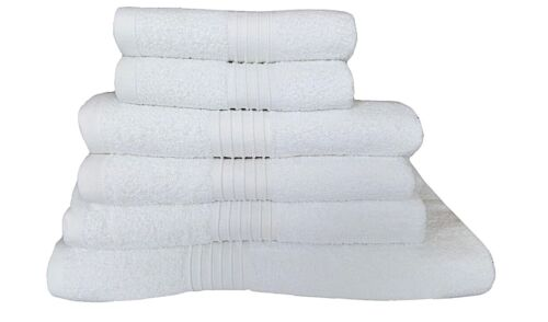100/% Egyptian Cotton Towels Set White Bath Sheet Hand Towels Large Bathroom Bale