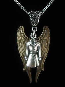 SUPERNATURAL-SERIES-CASTIEL-GOLD-WING-GIFT-NECKLACE-STERLING-SILVER-NECKLACE